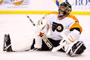 Bryzgalov Yanked vs. Jets, Mason Makes Flyers Debut