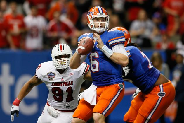 Florida Football: Will Muschamp Praises Jeff Driskel's Improvement