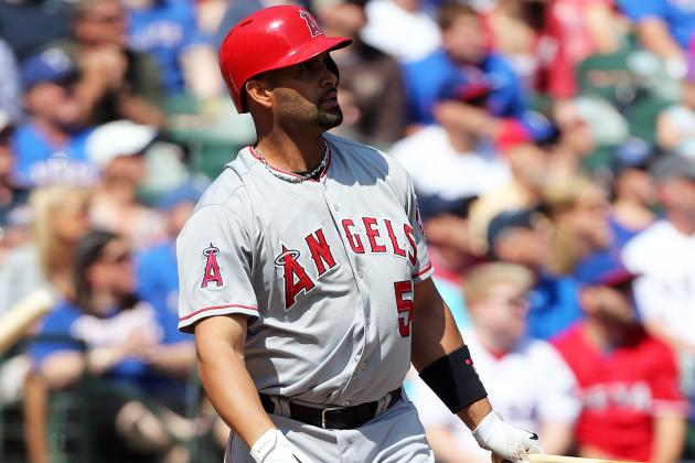 Angels Use Albert Pujols as Designated Hitter