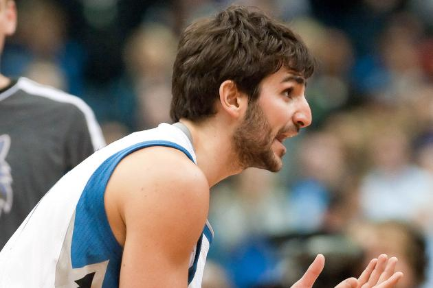 Ricky Rubio Receives Warning for Violating League's Anti-Flopping Rule