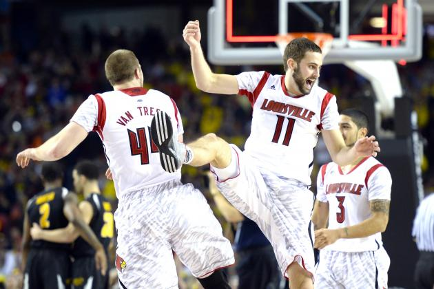 Louisville Defeats Wichita State, 72-68, Will Play for NCAA Title