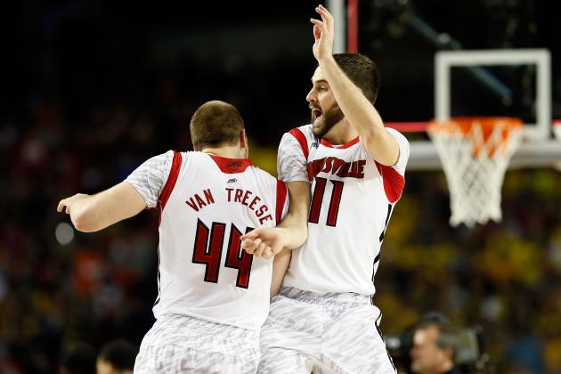 No Kevin Ware, but Louisville's Bench Mob the X-Factor vs. Wichita State