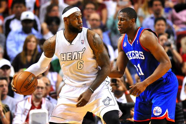 Miami Heat vs. Philadelphia 76ers: Live Score, Results and Game Highlights