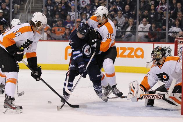 Four-Goal Outburst Propels Jets Past Flyers