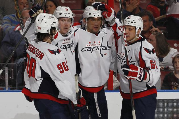 Ovechkin's Hat Trick Leads Caps over Panthers 4-3
