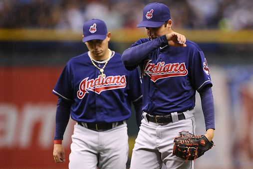 Trevor Bauer Walks Seven in Debut with Indians