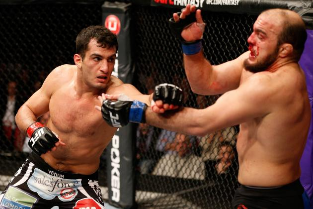 UFC on Fuel 9 Results: A Look at the FightMetric Numbers for Mousasi vs. Latifi