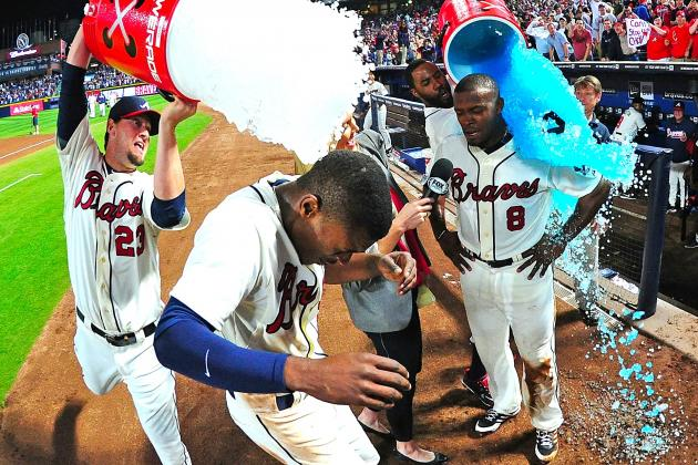Justin and B.J. Upton Homer in 9th Inning to Lead Braves Past Cubs