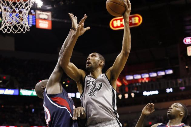 Spurs Beat Hawks 99-97