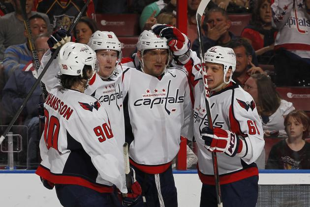 Ovechkin's Hat Trick Keys Caps' Win over Panthers