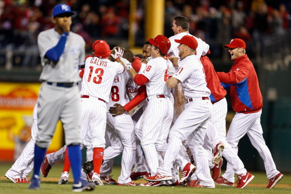 Phillies Plate 3 in Ninth off Holland, Stun Royals