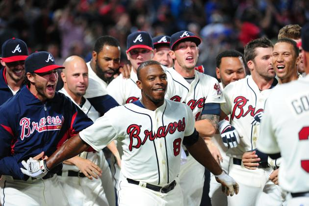 Upton Brothers Homer in Ninth as Braves Stun Cubs