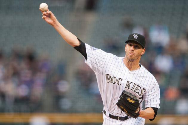 Rockies' Garland Wins in First Start Since '11