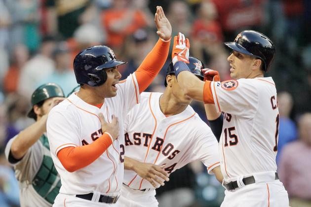 Astros Can't Maintain 3-1 Lead, Fall to A's