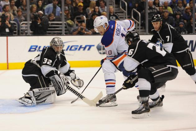 Carter, Quick Lead Surging Kings Past Oilers