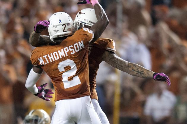 Texas Longhorns WR Kendall Sanders Arrested for DWI