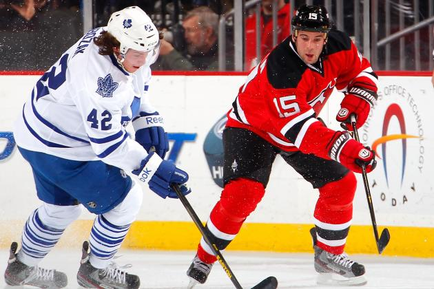 Leafs Send Reeling Devils to 6th Straight Loss