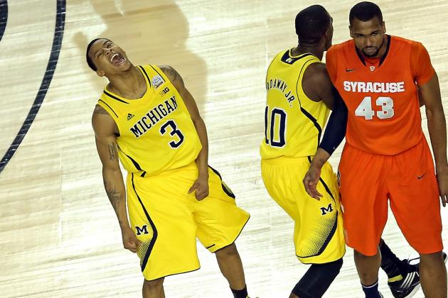 Final Four: Wolverines Squeeze Past Orange: March Madness Video Hub