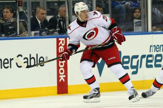 Hurricanes Fall to Rangers 4-1 for 7th Straight Home Loss