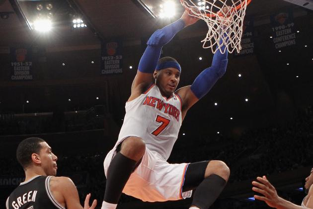 Why Carmelo Anthony and NY Knicks Need Each Other to Reach Their Ceilings