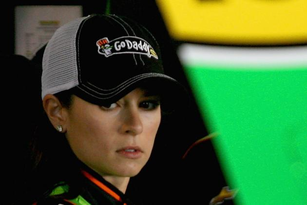 Danica Drops to Rear of Pack for Sunday's Race