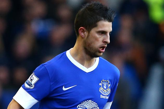 Mirallas Goal Gives Everton 2-1 Lead