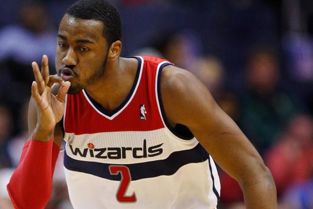 Wizards' John Wall Feeling Free to Flex During Another Spectacular Performance