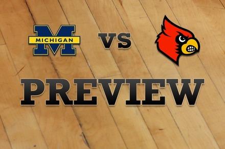 Michigan vs. Louisville: Full Game Preview