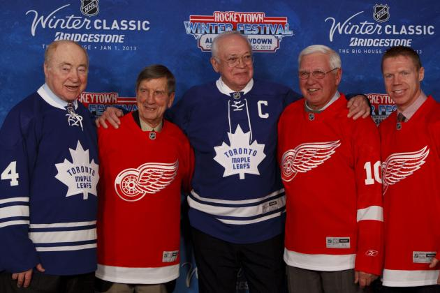 2014 Winter Classic Will Match Red Wings and Maple Leafs