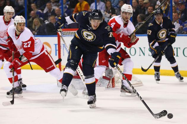 St. Louis Blues vs. Detroit Red Wings: Live Score, Updates and Analysis