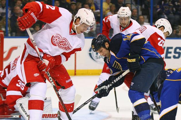 ESPN Gamecast: St. Louis Blues vs. Detroit Red Wings