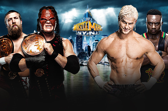 WWE Wrestlemania XXIX: Tag Title Match the Culmination of a Year-Long Story