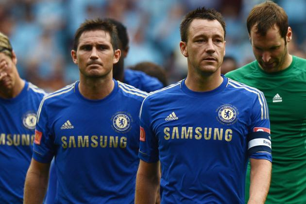 Chelsea vs. Sunderland:  Are John Terry and Frank Lampard Still Vital