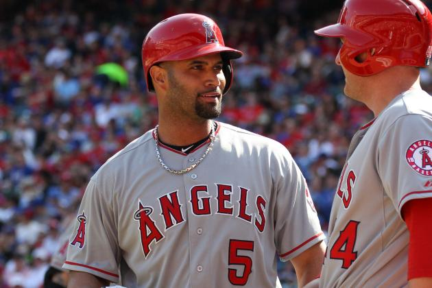 Angels' Albert Pujols Says His Contract Won't Be a Drag