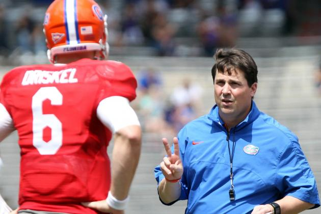 Muschamp Likes Direction of Florida's Offense