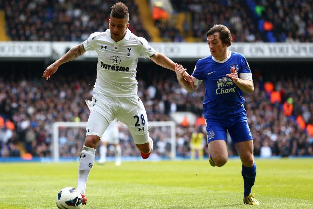 Tottenham 2-2 Everton: Toffees Dangerous on the Break but Too Narrow in Midfield