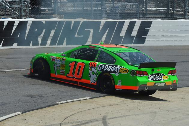 CUP: Danica Spins Out: Martinsville 2013