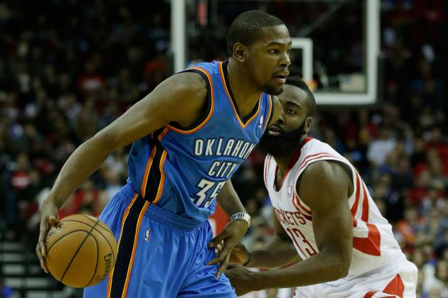 How Kevin Durant's Evolution Is Filling James Harden's Void for OKC Thunder