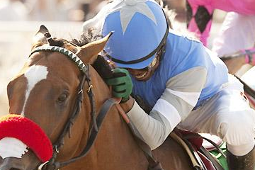 Final Four: Rick Pitino Horse Wins Santa Anita Derby
