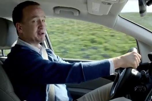 Behind the Scenes of Quarterback Peyton Manning's New Buick Commercial