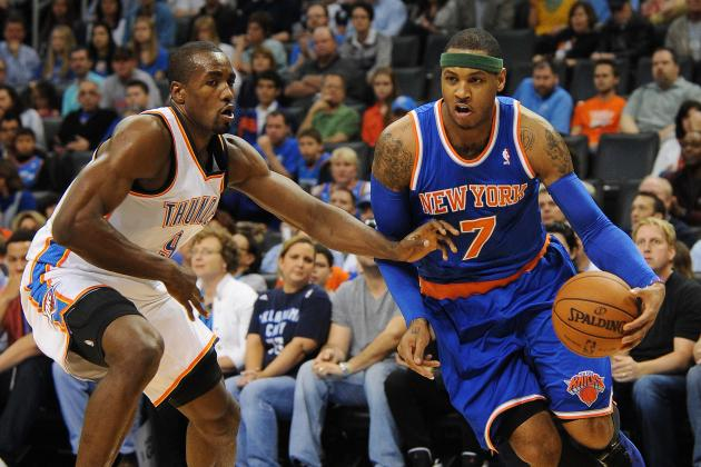 Knicks vs. Thunder: Live Score, Highlights and Reaction