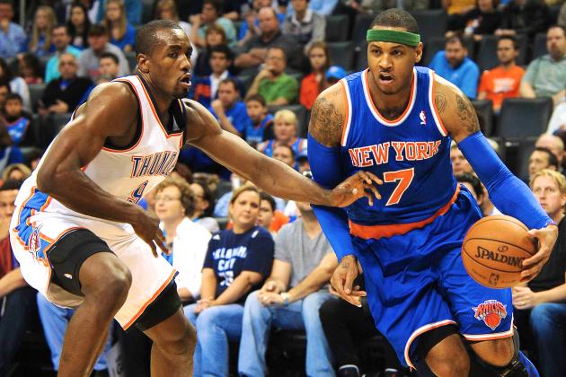 Knicks vs. Thunder: Live Score, Highlights and Reaction