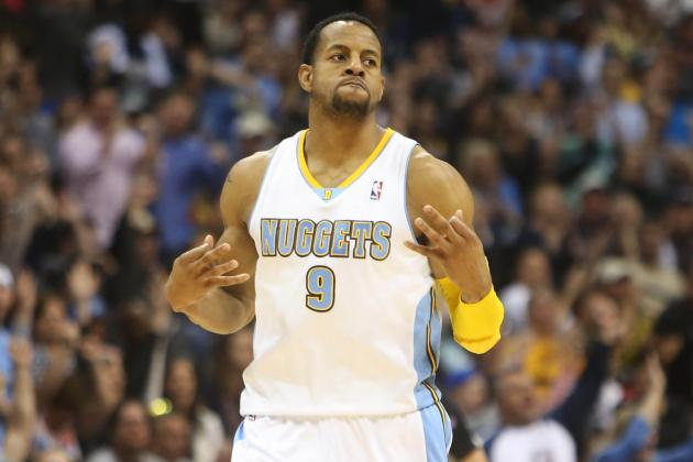 Breaking Down How Andre Iguodala's Versatility Is Denver Nuggets' Secret Weapon
