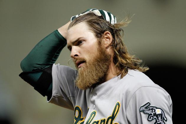 Josh Reddick Leaves Game with Apparent Arm Injury