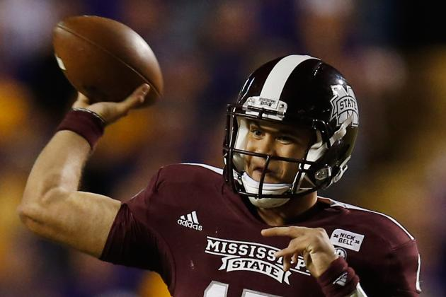 Russell Makes Strides in MSU Football Scrimmage