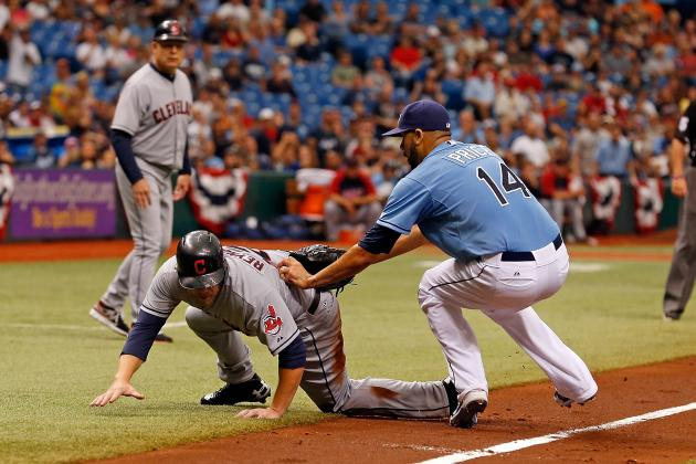 Indians 13, Rays 0