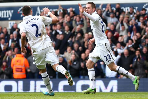 Tottenham 2-2 Everton: Spurs Smuggle Away 1 Point to Stay in CL Hunt