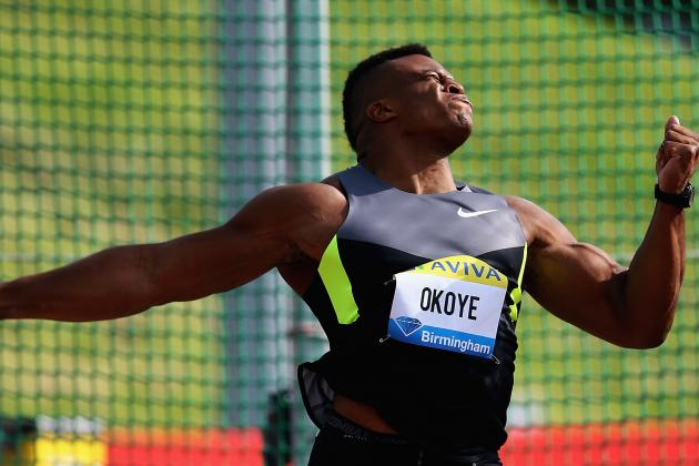 British Discus Thrower Puts on a Show at Regional Combine