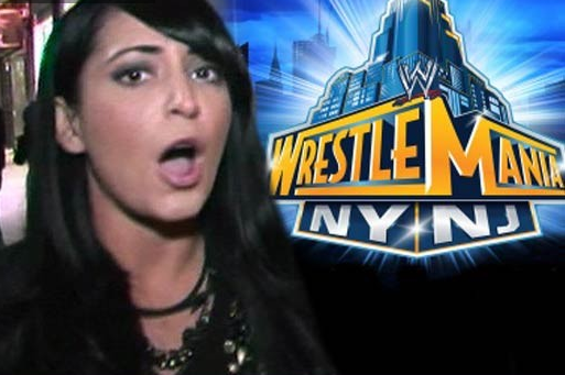 Angelina from 'Jersey Shore' No WrestleMania Freebies for You!