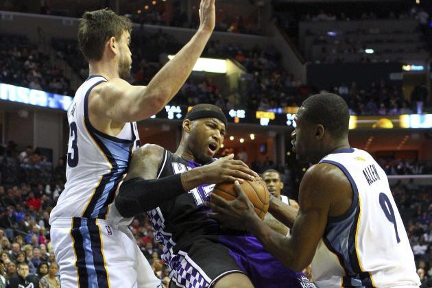 NBA Gamecast: Grizzlies vs. Kings